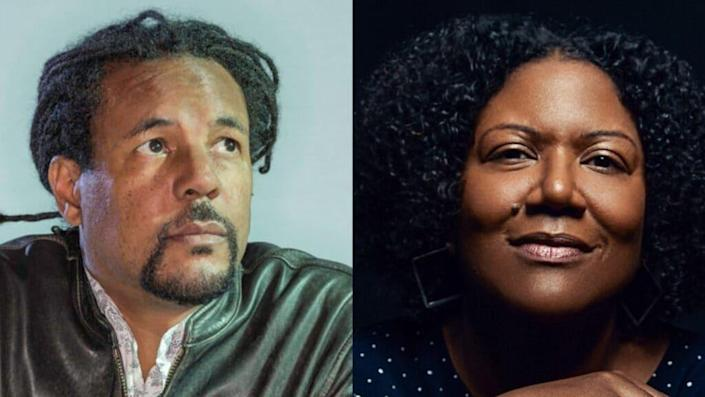 Nominees Colson Whitehead, Honorée Fanonne Jeffers (Credit: Whitehead official site, Jeffers Facebook page)
