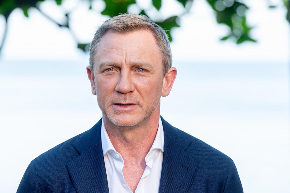 """MONTEGO BAY, JAMAICA – APRIL 25: Actor Daniel Craig attends the """"Bond 25"""" Film Launch at Ian Fleming's Home """"GoldenEye"""", on April 25, 2019 in Montego Bay, Jamaica. (Photo by Roy Rochlin/Getty Images for Metro Goldwyn Mayer Pictures)"""