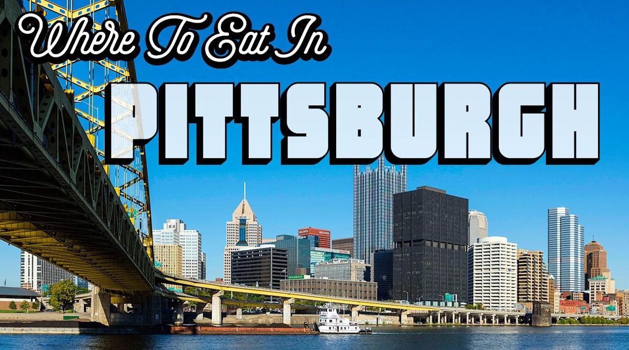 """<p><em>Heading to Pittsburgh soon for a Steelers game (or just for fun?) Trying to figure out the best places to eat? Whether you're looking for excellent (and affordable!) steak, or some wild boar bacon, we've got you covered right here with a list of the tastiest destinations to hit while you're in town. And for any other road trip needs, check out our <a rel=""""nofollow"""" href=""""https://www.si.com/eats/2017/city-food-guides-restaurant-recommendations-drink-usa"""">master list of city guides</a> throughout the U.S. </em></p><p></p><h3><strong>Gaucho Parrilla Argentina</strong></h3><p></p><p><a rel=""""nofollow"""" href=""""https://ec.yimg.com/ec?url=http%3a%2f%2featgaucho.com%2f%26quot%3b%26gt%3b1601&t=1506236958&sig=o44J1NxPnfURmTjYEHGokw--~D Penn Ave, Pittsburgh, PA 15222</a></p><p>The woman at the table to my right looked at the canoe-shaped object that had just arrived at my table. Then she looked at her friend. Then she looked at me.</p><p>""""We need,"""" she said, """"to take a picture of your meat.""""</p><p></p><p>I never expected to hear that sentence in my life, but I also had never had such an impressive display of charred bovine musculature arrayed before me on something that looked like a small personal water conveyance. Sure, I've eaten some delicious steaks. There's the Fabulous Filet at Charley's in Tampa in Orlando, a dry-aged, 20-ounce, center-cut masterpiece that can be sliced with a fork. There was this beautiful, rare 64-ounce tomahawk ribeye at Ruffino's in Baton Rouge.</p><p>All those previous steaks were limited by cut, though. Even the porterhouse only offers the filet and the strip. The Asado Platter at Pittsburgh's<a rel=""""nofollow"""" href=""""http://eatgaucho.com/""""> Gaucho Parrilla Argentina</a> does not force diners into a carnivorous Sophie's choice. It comes with healthy portions of flank, sirloin, filet, ribeye and strip. It costs $50, and it can feed four normal-sized adults, two extraordinarily large adults or one me.</p><p>When I ordered at the counter and gave """