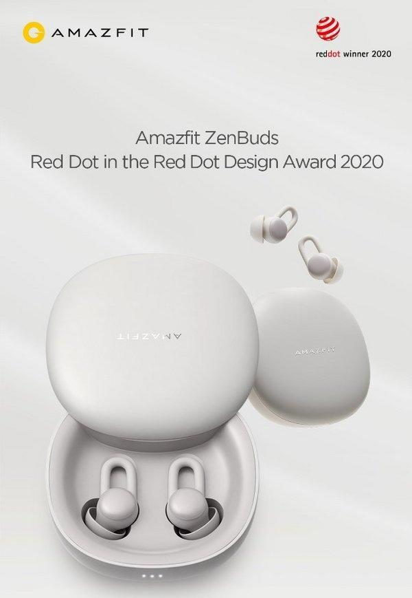 Amazfit ZenBuds Won Red Dot in the Red Dot Design Award 2020