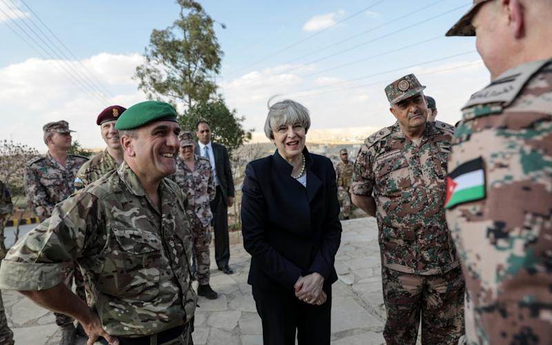 Theresa May keeps fit with an intense exercise regime - Bloomberg