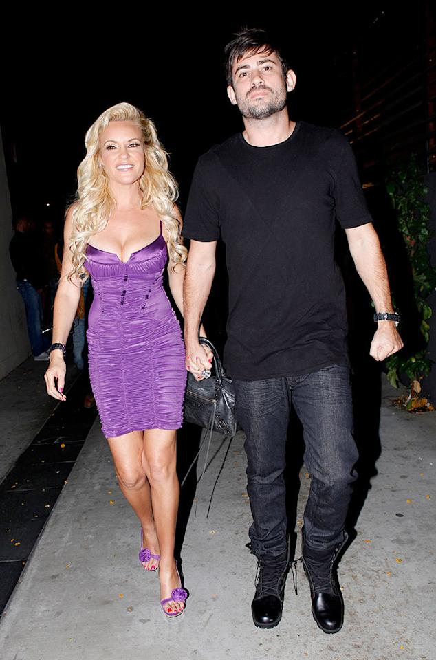 "Fellow ""Girl Next Door"" Bridget Marquardt planned the soiree to celebrate Kendra's upcoming nuptials to NFL star Hank Baskett on June 27. Castro/<a href=""http://www.x17online.com"" target=""new"">X17 Online</a> - June 18, 2009"