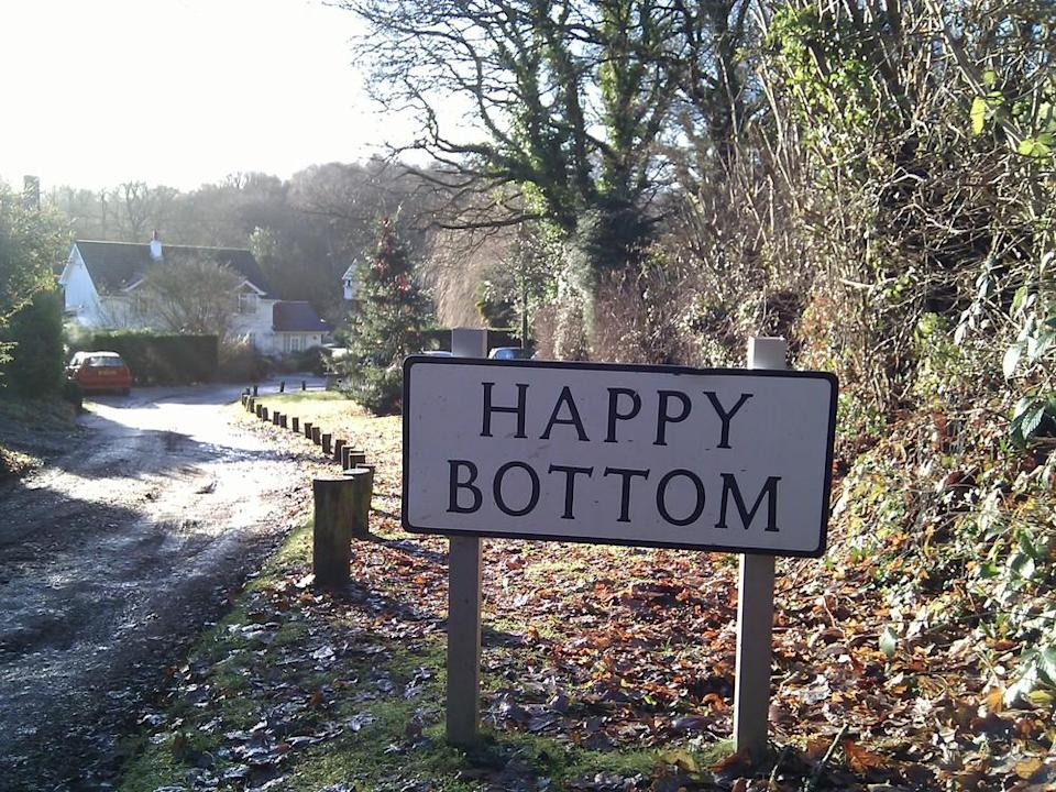 <p>At least the area of Happy Bottom in Dorset sounds cheerful. </p>