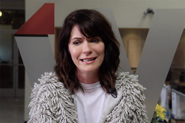 Legion Star Katie Aselton Says Melania Trump Should Get Holmes Lawyers Exclusive Video
