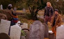 """<p>While not in Salem, this cemetery from the film also exists off the big screen. Located in Marblehead, Massachusetts, <a href=""""http://www.oldburialhill.org/"""" rel=""""nofollow noopener"""" target=""""_blank"""" data-ylk=""""slk:Old Burial Hill"""" class=""""link rapid-noclick-resp"""">Old Burial Hill</a> remains one of the oldest cemeteries in all of New England and holds graves from as far back as the 17th century. Enter if you dare! (If you're as big of a <em>Hocus Pocus</em> fan as you claim to be, we think you've got it in you.)</p><p><a class=""""link rapid-noclick-resp"""" href=""""https://go.redirectingat.com?id=74968X1596630&url=https%3A%2F%2Fwww.tripadvisor.com%2FTourism-g41660-Marblehead_Massachusetts-Vacations.html&sref=https%3A%2F%2Fwww.countryliving.com%2Flife%2Fg28484825%2Fwhere-was-hocus-pocus-filmed%2F"""" rel=""""nofollow noopener"""" target=""""_blank"""" data-ylk=""""slk:PLAN YOUR VISIT"""">PLAN YOUR VISIT</a></p>"""