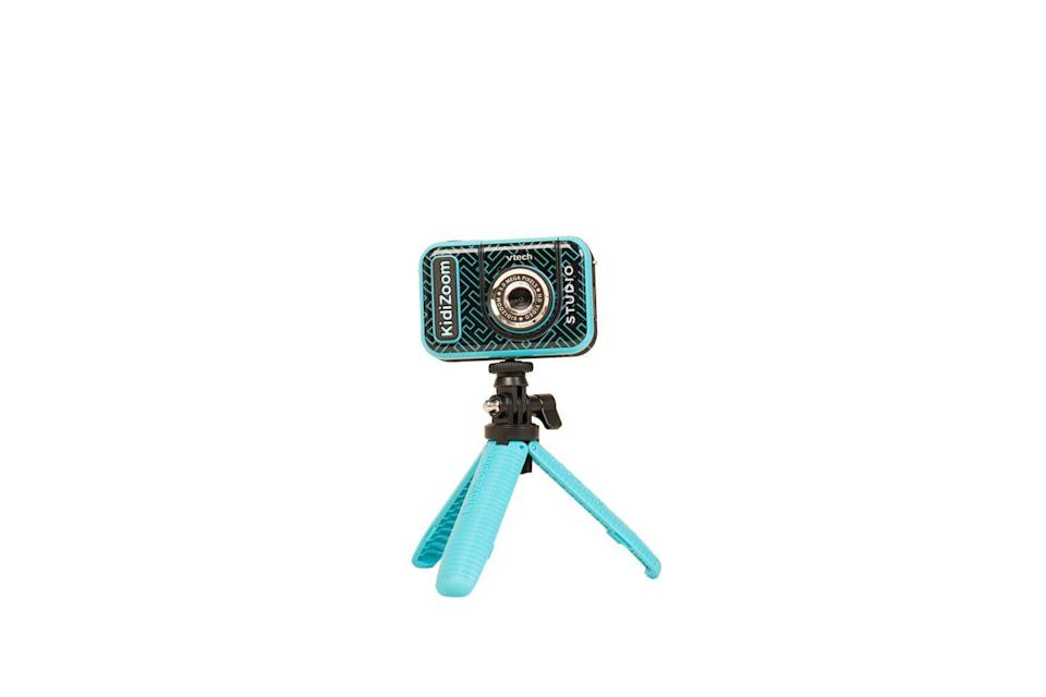 """<p>Complete with a green screen to create special effects, this high-definition video camera kit comes with everything you need to create your own film. Set up the included tripod to film your very own unboxing videos or use the flip-up lens and handle to capture the perfect on-the-move selfie video. Includes 20 animated backgrounds for all your video adventures, whether for TikTok or vlogging.</p><p><a class=""""link rapid-noclick-resp"""" href=""""https://go.redirectingat.com?id=127X1599956&url=https%3A%2F%2Fwww.argos.co.uk%2Fproduct%2F8913539&sref=https%3A%2F%2Fwww.housebeautiful.com%2Fuk%2Flifestyle%2Fshopping%2Fg33533336%2Fargos-christmas-toys-2020%2F"""" rel=""""nofollow noopener"""" target=""""_blank"""" data-ylk=""""slk:BUY NOW VIA ARGOS"""">BUY NOW VIA ARGOS</a></p>"""