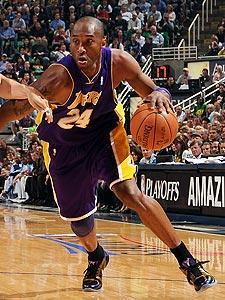 Kobe Bryant averaged 32 points during the Lakers' four-game sweep of the Jazz