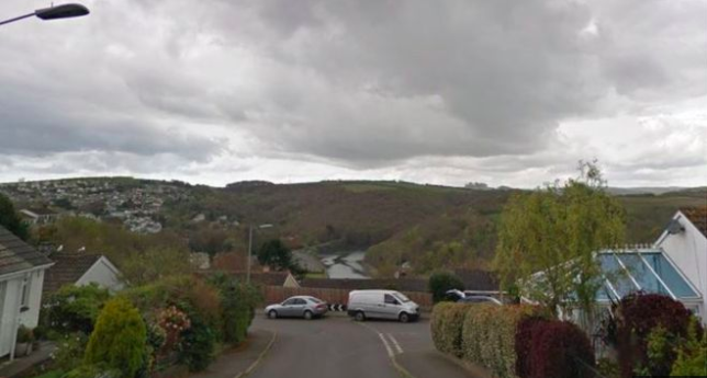 Girl, seven, killed after car crashes into house in Looe, Devon (Google)