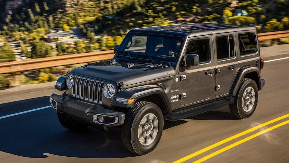 <p>Number 1: <strong>Jeep Wrangler Unlimited</strong><br> Average 5-year depreciation percentage: <strong>30.0%</strong></p> <p>Jeep introduced the four-door Wrangler Unlimited model in 2006, having successfully tested the extended-wheelbase waters for two years with a two-door version based on the previous generation of the automaker's standard-setting off-roader. It was an immediate success, and its continued demand as a used vehicle earns it the title as the vehicle that retains more value after five years than any other in America.</p>