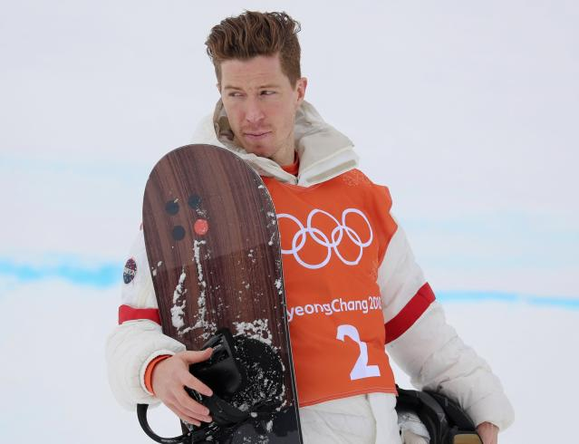 Shaun White gave a thrill to a local restaurant owner in Pyeongchang. (Reuters)