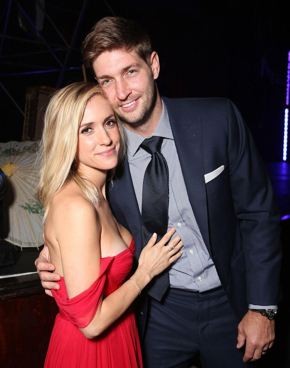 """<p><a href=""""https://www.cosmopolitan.com/entertainment/celebs/a32364404/kristin-cavallari-jay-cutler-divorce-timeline/"""" rel=""""nofollow noopener"""" target=""""_blank"""" data-ylk=""""slk:Kristin Cavallari and Jay Cutler's divorce drama"""" class=""""link rapid-noclick-resp"""">Kristin Cavallari and Jay Cutler's divorce drama</a> was quite the wild ride, wasn't it? Jay filed to divorce Kristin in April after 10 years of marriage, and both parties claimed they simply grew apart—that is, until <a href=""""https://www.cosmopolitan.com/entertainment/celebs/a32364404/kristin-cavallari-jay-cutler-divorce-timeline/"""" rel=""""nofollow noopener"""" target=""""_blank"""" data-ylk=""""slk:Kristin cited &quot;marital misconduct&quot; and &quot;irreconcilable differences&quot; for their split in court docs"""" class=""""link rapid-noclick-resp"""">Kristin cited """"marital misconduct"""" and """"irreconcilable differences"""" for their split in court docs</a>. After initially disagreeing about home purchases, splitting time with the kids, and potential new SOs, things are kinda chill now. Kinda.</p>"""