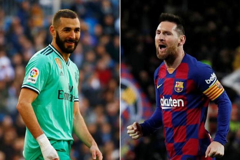 La Liga: Real Madrid's Karim Benzema Looks to Put Lionel Messi of Barcelona in El Clasico Shade