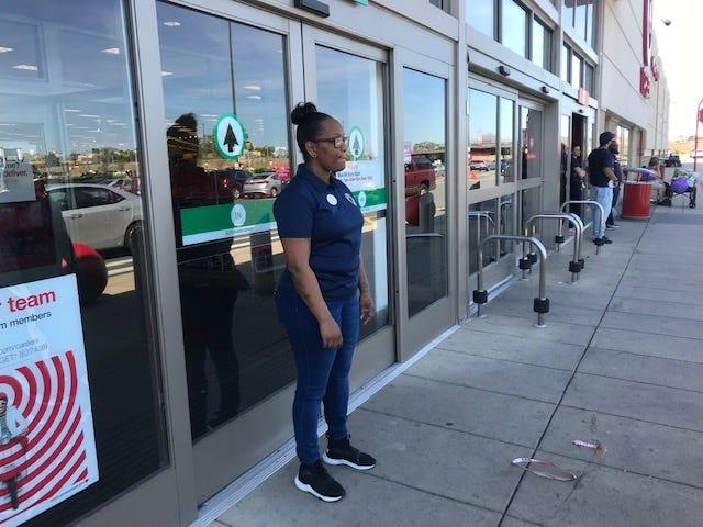 Target registers are now working after a nationwide outage Saturday caused long checkout lines and closed some stores.