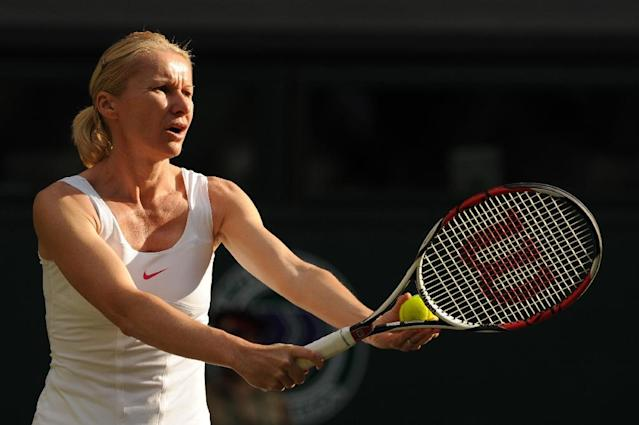 Wimbledon champion Jana Novotna has died at the age of 49 after suffering from cancer (AFP Photo/ADRIAN DENNIS)