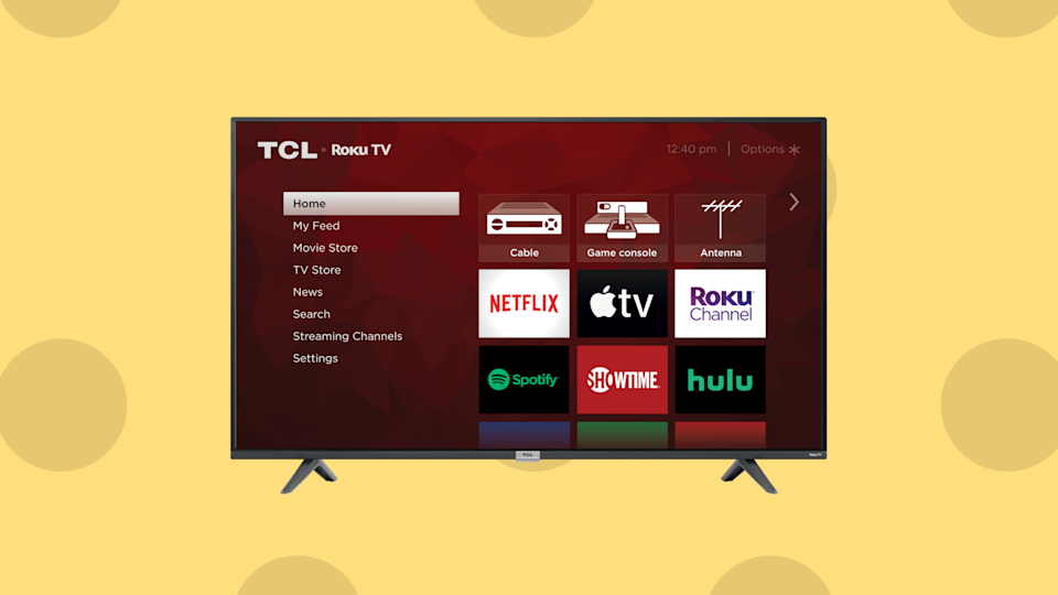 Save 33 percent on this TCL 40-inch Class 3-Series HD Smart TV (40S325). (Photo: Amazon)