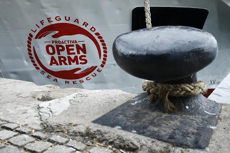 Open Arms verso Lampedusa