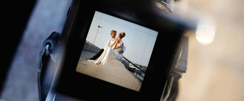 Shooting a wedding with a vintage oldschool camera