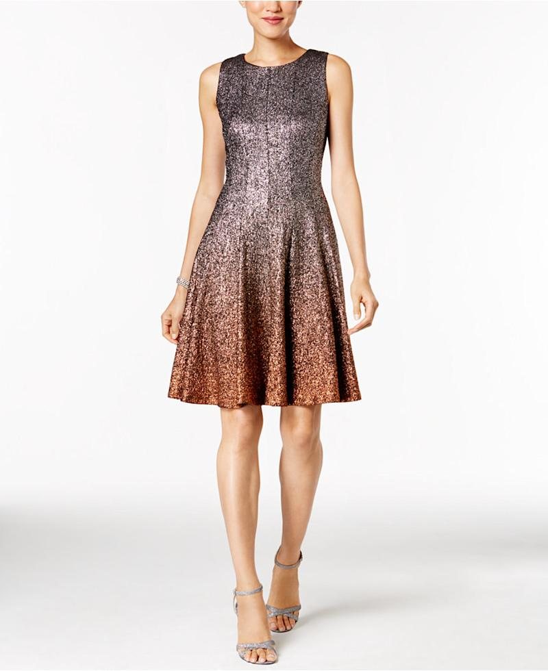 10 sparkly dresses to wear before new year s eve for Glitter new years dresses