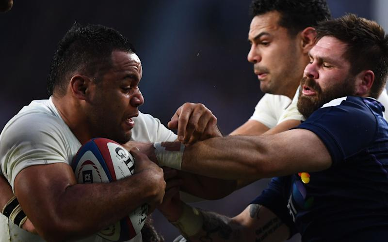 Billy Vunipola came off the bench in the second half of the resounding defeat of Scotland at Twickenham last week as England secured the Six Nations Championship - Copyright (c) 2017 Rex Features. No use without permission.