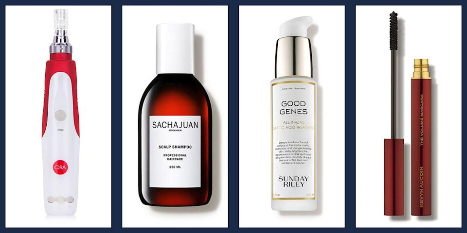 """<p>Beauty lovers know that getting top-notch, luxurious, highly efficacious skin, hair, and makeup products comes with a price tag, and that big name beauty sales are few and far between. Which is what makes it such major news when a retailer like <a href=""""https://www.dermstore.com/"""" rel=""""nofollow noopener"""" target=""""_blank"""" data-ylk=""""slk:Dermstore"""" class=""""link rapid-noclick-resp"""">Dermstore</a> celebrates the changing of the season with a chance to change up your beauty routine for less. </p><p>To celebrate the spring thaw (and the attendant shift in our skincare needs) Dermstore's holding a major sale on big name brands like Sunday Riley, Dermalogica, and R+Co, with discounts up to <strong>20% off</strong>. Simply <strong>enter the code GLOWUP at checkout</strong> and watch the savings stack up.</p><p>In case you need a little inspiration to get your cart going, we've rounded up some of our <em>T&C</em> editor-favorite products—the stuff we rely on for the <a href=""""https://www.townandcountrymag.com/style/beauty-products/a20685854/how-to-get-glowing-skin/"""" rel=""""nofollow noopener"""" target=""""_blank"""" data-ylk=""""slk:dewiest, most glowing skin"""" class=""""link rapid-noclick-resp"""">dewiest, most glowing skin</a>, bouncy shampoo commercial hair, and serving up <a href=""""https://www.townandcountrymag.com/style/beauty-products/a32406560/end-of-lipstick-index-coronavirus-recession-mascara-index/"""" rel=""""nofollow noopener"""" target=""""_blank"""" data-ylk=""""slk:mask-topping eye makeup looks"""" class=""""link rapid-noclick-resp"""">mask-topping eye makeup looks</a>—with the discount applied so you can see just how much you'll save. </p><p>Take a look at our picks below, then <a href=""""https://www.dermstore.com/"""" rel=""""nofollow noopener"""" target=""""_blank"""" data-ylk=""""slk:head to Dermstore"""" class=""""link rapid-noclick-resp"""">head to Dermstore </a>for the full sale.</p>"""