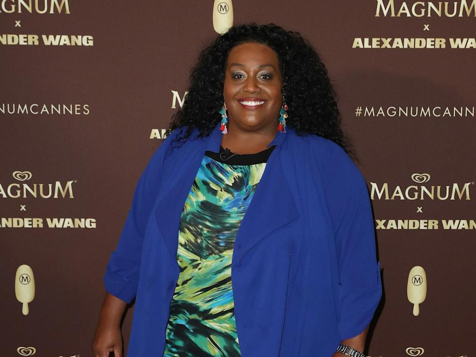 Alison Hammond attends the Magnum VIP Party during the 71st annual Cannes Film Festival  (Getty Images)