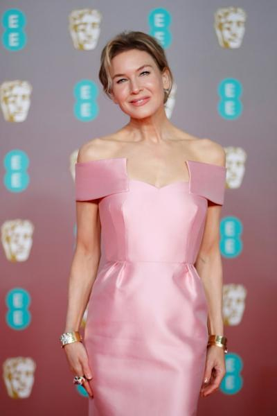 US actress Renee Zellweger won the best actress award for her role in 'Judy'