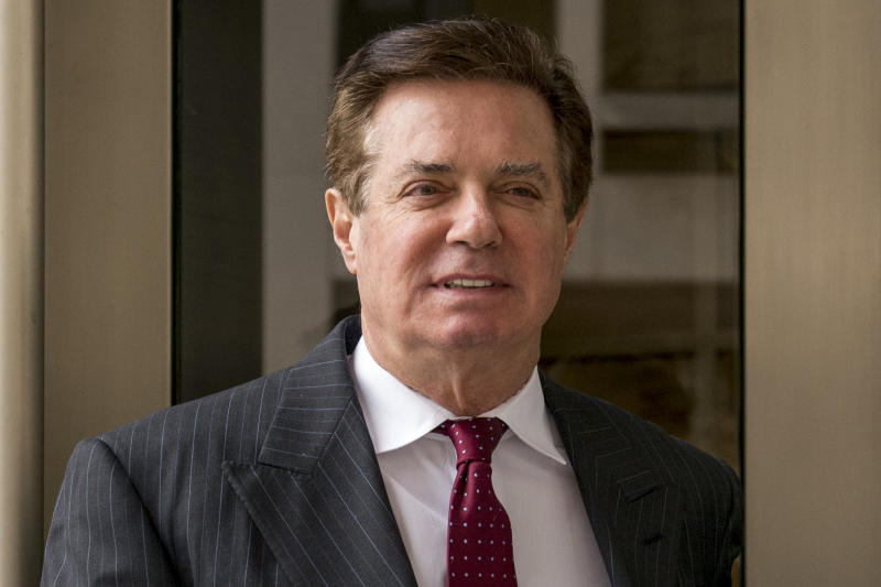 Manafort continued Ukraine work in 2018, prosecutors say
