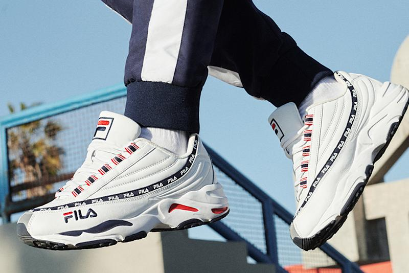 Fila Mixes It Up With Disruptor Future Collection