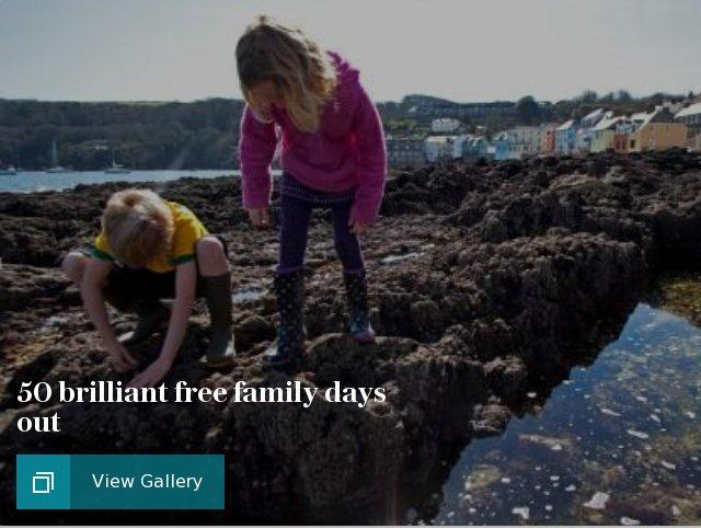 50 brilliant free family days out