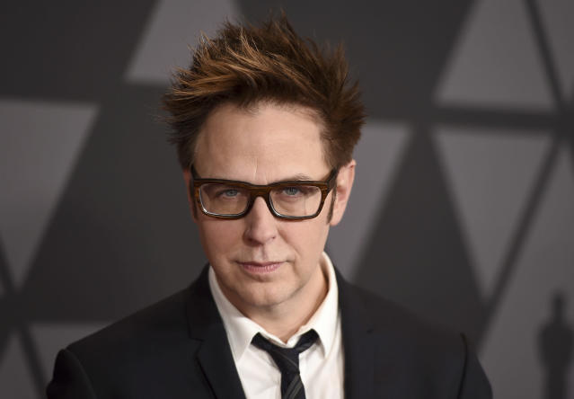 James Gunn arrives at the 9th annual Governors Awards at the Dolby Ballroom on Saturday, Nov. 11, 2017, in Los Angeles, Calif. (Photo by Jordan Strauss/Invision/AP)