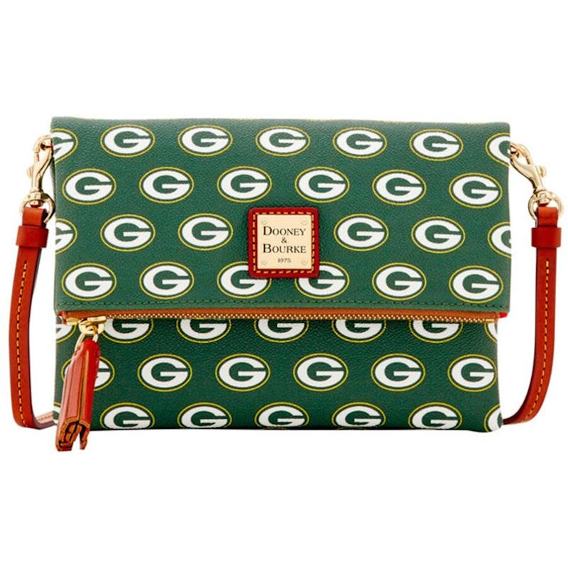 Dooney & Bourke Packers Foldover Crossbody