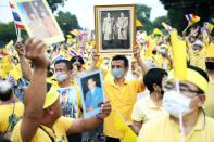 Event to support the monarchy in Bangkok