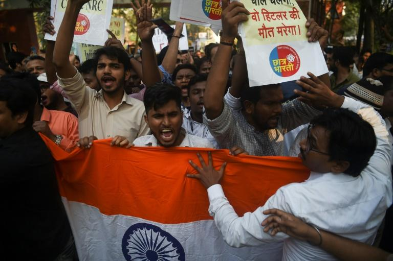 Mumbai is one of the many cities where activists have protested against India's new citizenship law