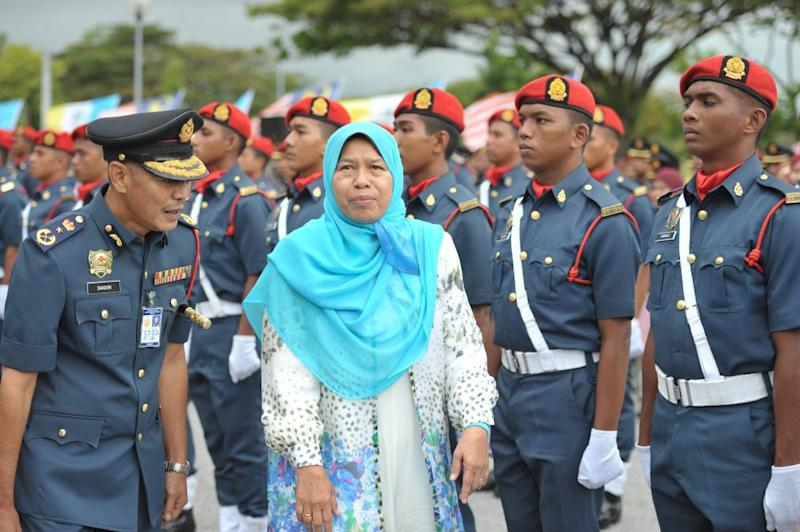 Zuraida said having a fire station in every residential area with more than 10,000 people will allow front-liners to reach the site of an incident within a shorter period of time. — Picture by KE Ooi