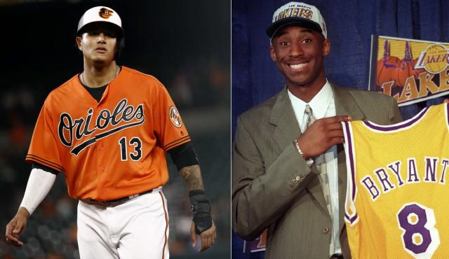 New Dodgers shortstop Manny Machado will be switching to No. 8 in part to honor Lakers legend Kobe Bryant. (AP Photos)