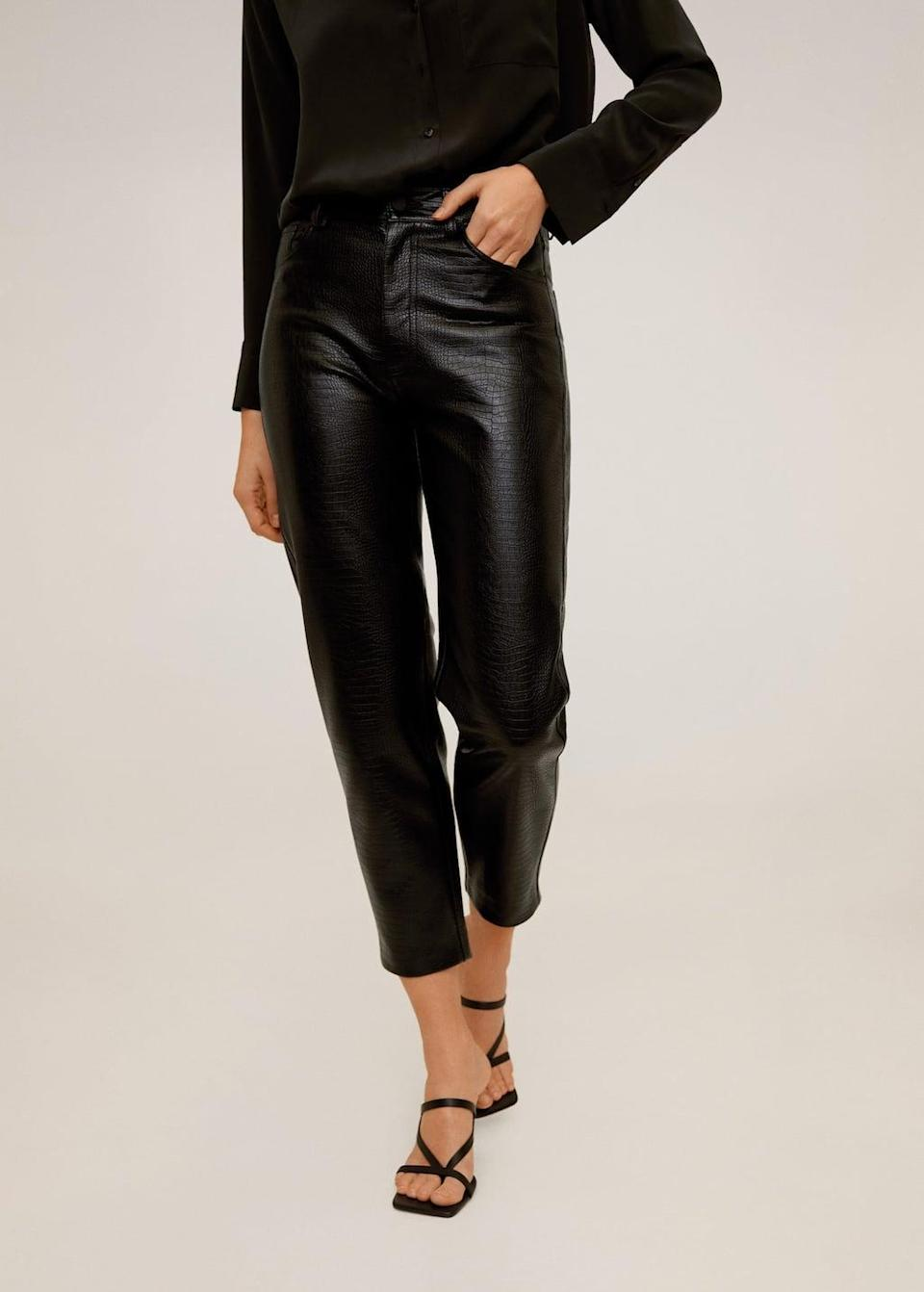 <p>These <span>Textured crop pants</span> ($80) will look good no matter what you pair them with.</p>