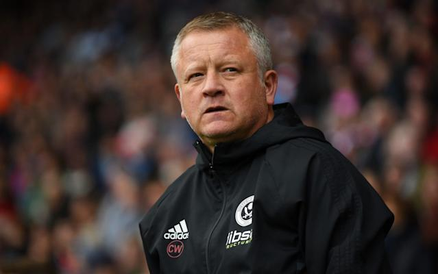 <p>Chris Wilder steeled for an emotional Sheffield derby </p>