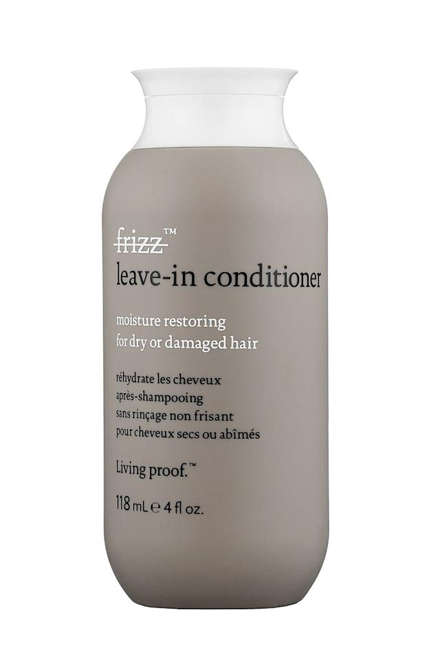 """<p>""""This lightweight conditioner is perfect for all hair types and is great to keep hair bouncy and moving even on the most humid days,"""" says Tracee Ellis Ross' hairdresser Yene Dametew.</p><p>Living Proof No Frizz Leave-In Conditioner, $25,<a rel=""""nofollow"""" href=""""http://www.sephora.com/no-frizz-leave-in-conditioner-P244511""""> <u>Sephora.com</u></a></p>"""