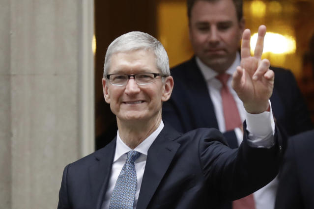 Apple CEO Tim Cook. (AP Foto/Matt Dunham)