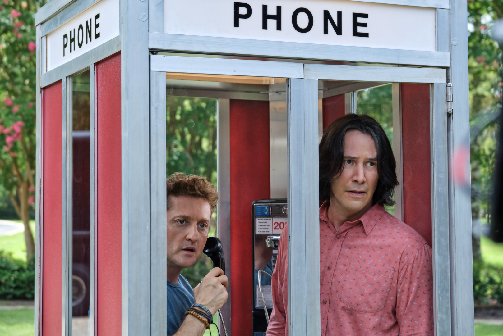 Alex Winter and Keanu Reeves in the first trailer for 'Bill & Ted Face the Music' (Photo: Orion Pictures)