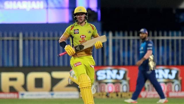 Sam Curran, who came to bat down the order this time, was the lone fighter for Chennai, scoring 52 runs off 47 balls as CSK posted 114-9. Sportzpics