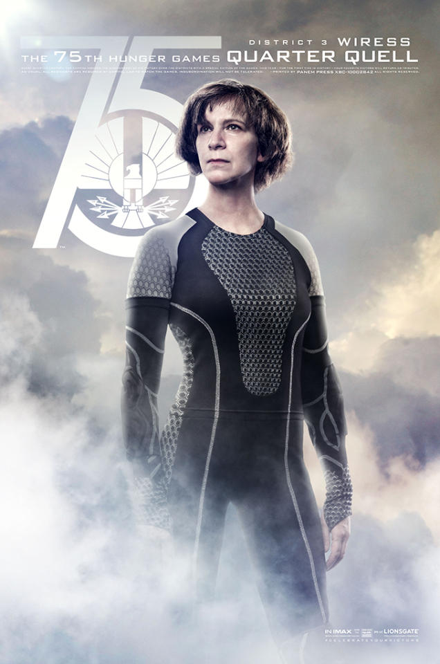 "Amanda Plummer as Wiress in Lionsgate's ""The Hunger Games: Catching Fire"" - 2013"