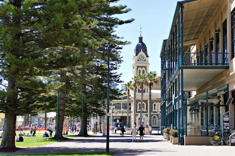 Glenelg is a seaside suburb of Adelaide popular with tourists. It is home to a large number of eateries and entertainment venues.