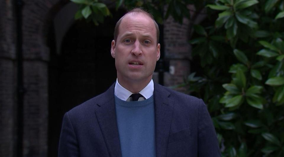 """Prince William said his mother was failed by a """"rogue reporter"""" (PA)"""
