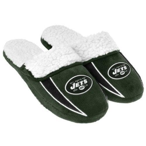 """<p>Stay cozy while you watch sports with these <a rel=""""nofollow"""" href=""""http://www.popsugar.com/buy/NFL%20Football%20Men%27s%20Team%20Logo%20Sherpa%20Slippers-400759?p_name=NFL%20Football%20Men%27s%20Team%20Logo%20Sherpa%20Slippers&retailer=amazon.com&price=18&evar1=fit%3Aus&evar9=45609526&evar98=https%3A%2F%2Fwww.popsugar.com%2Ffitness%2Fphoto-gallery%2F45609526%2Fimage%2F45610331%2FNFL-Football-Men-Team-Logo-Sherpa-Slippers&list1=gifts%2Choliday%2Cmen%2Csports%2Cgift%20guide%2Cfitness%20gear%2Cfitness%20gifts%2Cgifts%20for%20men&prop13=desktop&pdata=1"""" rel=""""nofollow"""">NFL Football Men's Team Logo Sherpa Slippers</a> ($18).</p>"""