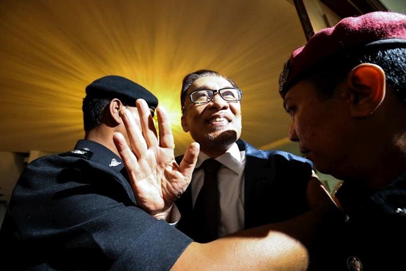 Anwar has been imprisoned since 2015 and was finally released yesterday. — Picture by Zuraneeza Zulkifli