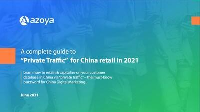 Azoya Consulting's newly-published report gives an introduction to what private traffic is and how private traffic works in the WeChat ecosystem. The whitepaper shares global e-commerce & digital marketing best practices to help companies earn customer loyalty among digital-savvy Chinese shoppers - includes case studies of improved performance for brands like Armani, Lancôme, Urban Revivo, ESTĒE LAUDER, Perfect Diary, Feelunique, Pharmacy Online, & FragranceNet.