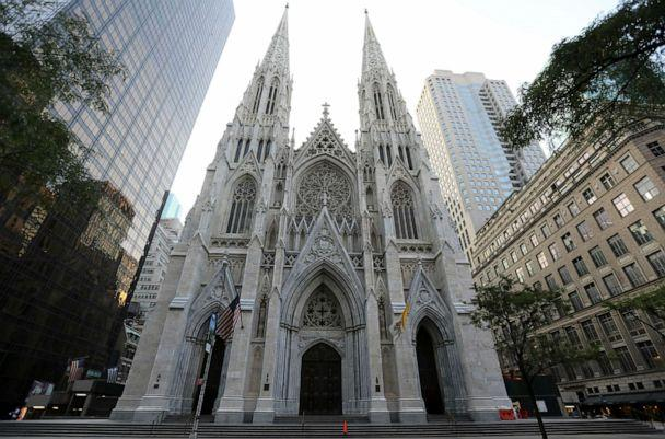 PHOTO: St. Patrick's Cathedral in New York. (Mary Altaffer/AP, FILE)