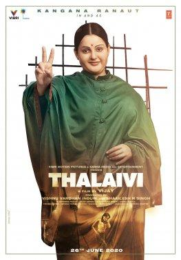 In Thalaivi, Kangana Ranaut portrays former Tamil Nadu Chief Minister J. Jayalalithaa. Ranaut's look for the film, which was done by Hollywood prosthetics artist, Jason Collins, was met with both massive trolling on social media, and some praise. The film, which will also feature Aravind Swami playing MGR in the film, is slated for theatrical release on June 26, 2020.