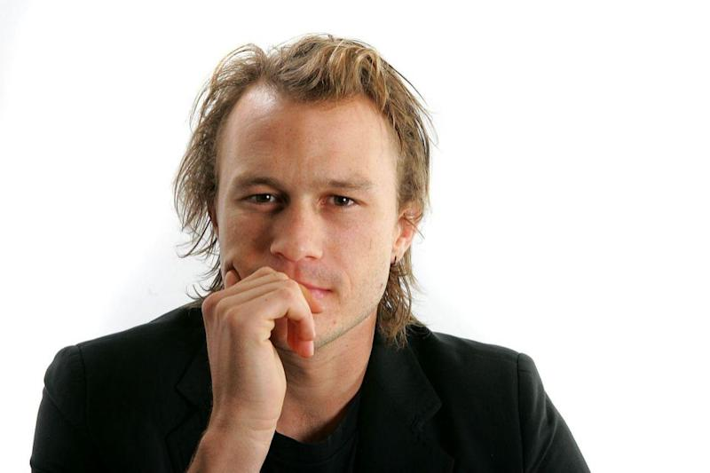 Heath Ledger sits for a portrait in the Chanel Celebrity Suite at the Four Seasons hotel during the Toronto International Film Festival on Sept. 8, 2006. (Photo: Carlo Allegri/Getty Images)